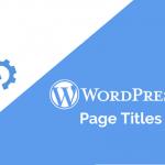 how to change SEO titles in WordPress